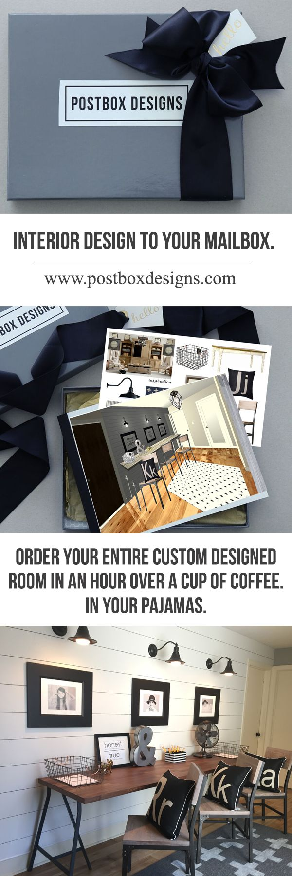 Its Interior Design Straight To Your Mailbox Postbox Designs Is An Affordable Custom