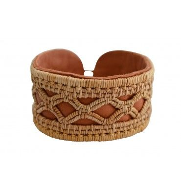 Bracelet handmade by birch root craft from the north of Sweden (rotslöjd). Designed by Gunnel Eriksson.