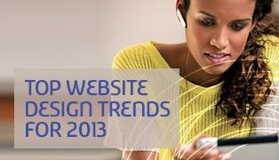 Top Website Design Trends for 2013