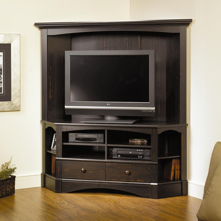 Corner Tv Entertainment Center With Hutch - WoodWorking Projects & Plans