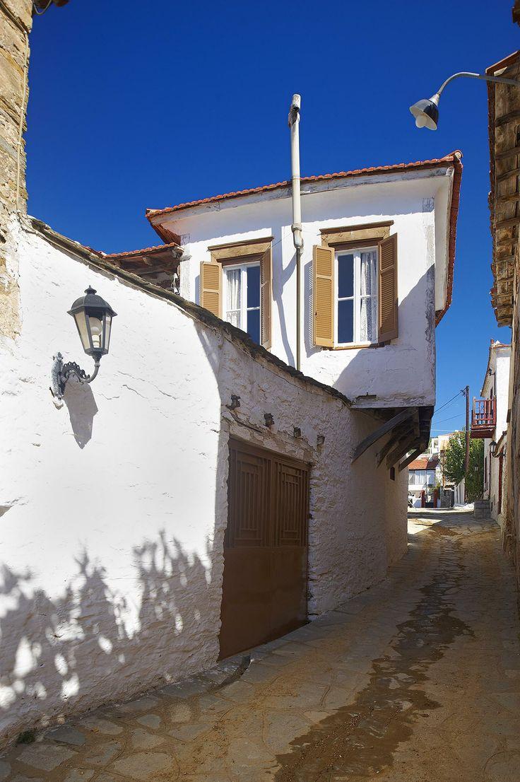 Traditional old house, Poligiros, Halkidiki, Greece