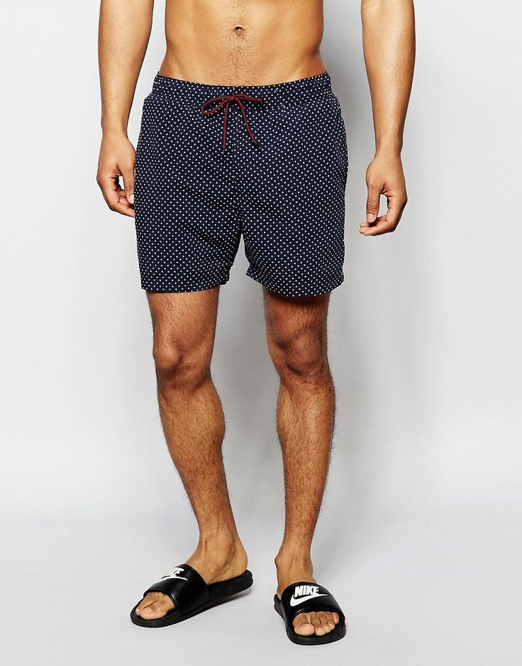 Selected+Homme+Printed+Swim+Shorts