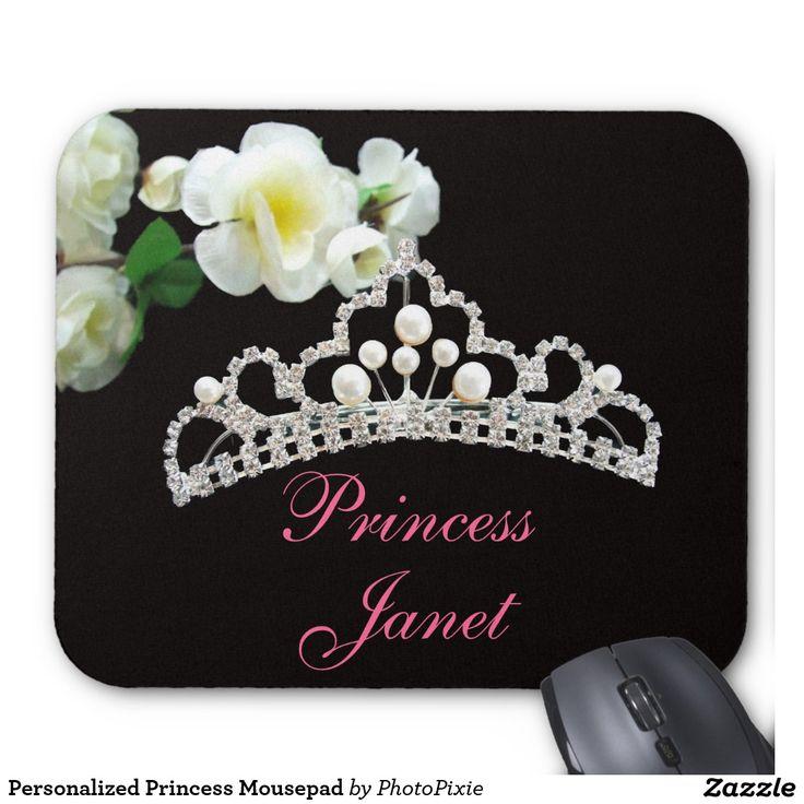 Personalized Princess Mousepad
