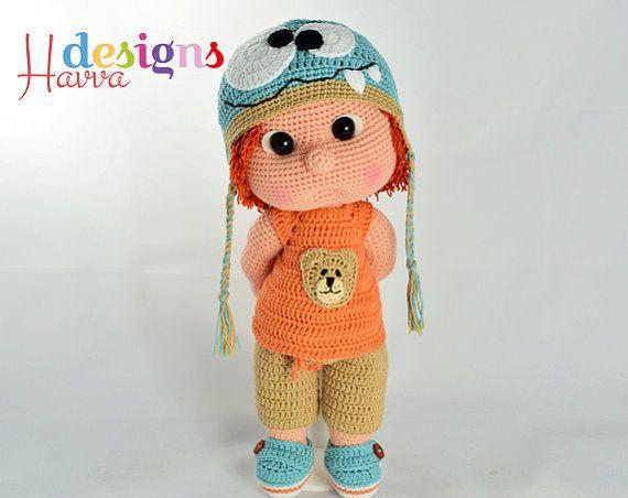 Amigurumi Boy Doll Pattern : 426 best куклы images on pinterest amigurumi patterns amigurumi