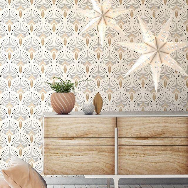 papier peint 1925 plusieurs coloris paper mint surfaces murales d 39 int rieur en 2019. Black Bedroom Furniture Sets. Home Design Ideas