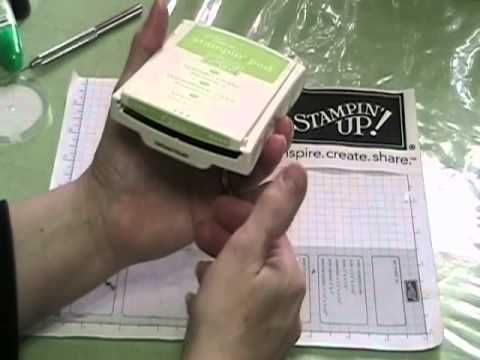 How to Fix a Broken Stamp Pad.wmv
