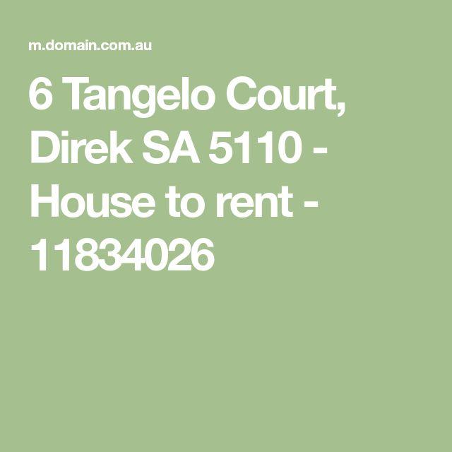 6 Tangelo Court, Direk SA 5110 - House to rent - 11834026
