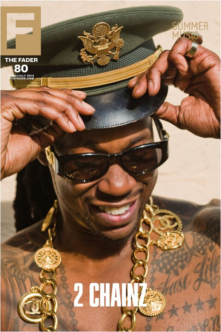 "Get this, 20"" x 30"", 2 Chainz poster featuring the cover artwork of The FADER Issue 80. *Please note: order will be processed immediately upon receipt, we will not be able to cancel or change your ord"