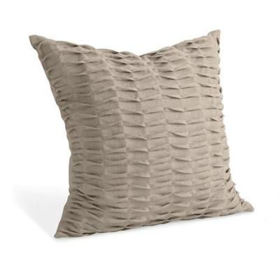 Linen pintuck natural pillow from room board pillows for Room and board pillows