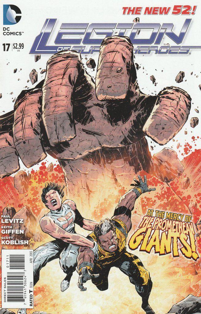 Legion of Super-Heroes # 17 DC Comics The New 52! Vol. 7