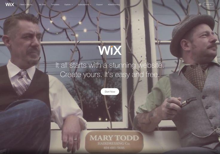 #wix #webservice #video #fullscreen #parallax #scroll