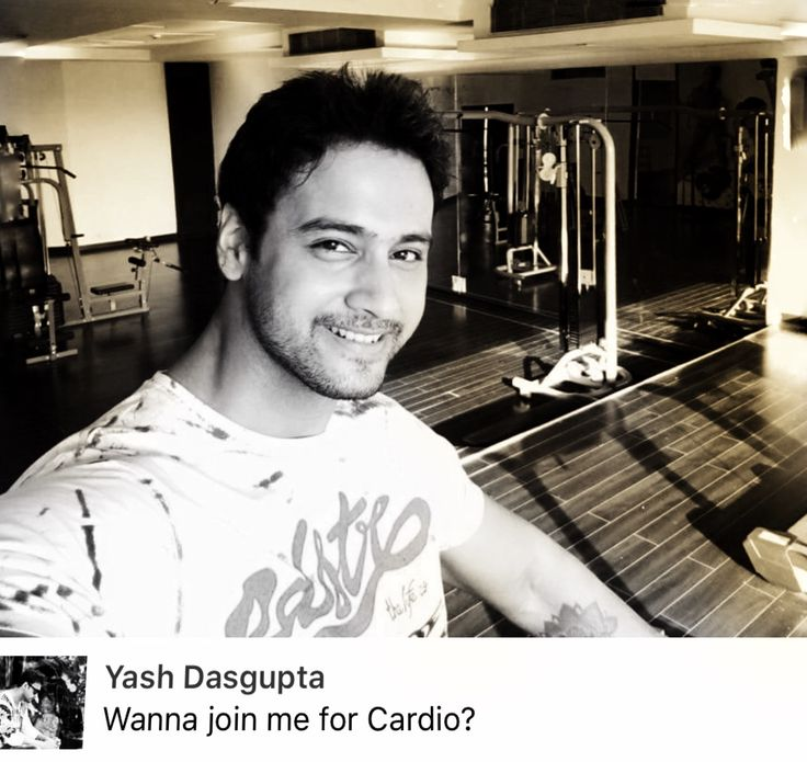 Cardio with #YashDasgupta ?