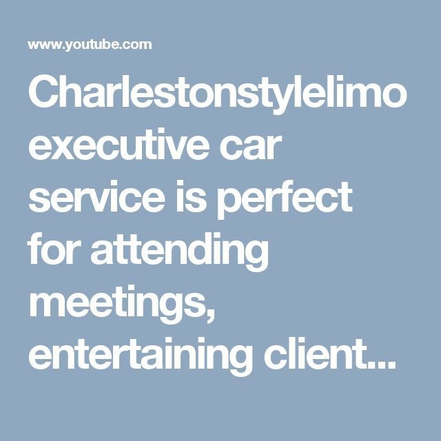 Charlestonstylelimo executive car service is perfect for attending meetings, entertaining clients, delivering visitors to your offices and coordinating employee outings. We also have a broad range of larger vehicles to handle conventions and other corporate outings.