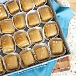 Dark Chocolate And Salted Caramel Topped Shortbread Recipes ...