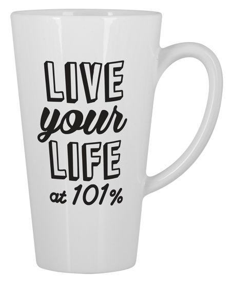 At 101% Big Mug Latte Design by Ejmadziu | Teequilla | Teequilla
