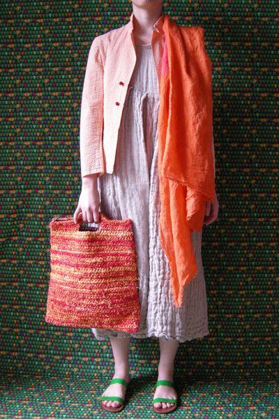 Daniela Gregis, Beautiful colors and textures, looks comfy.