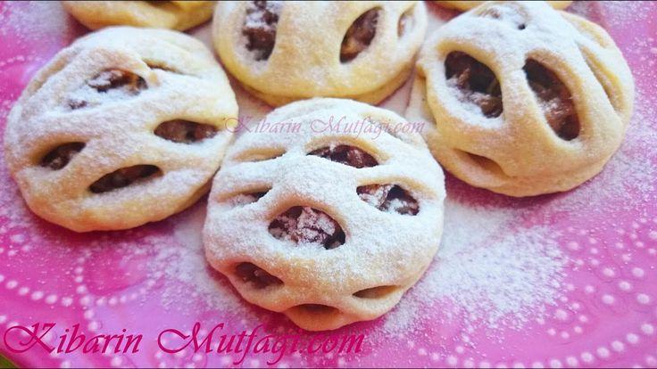 Elmalı turta şeklinde kafes kurabiye tarifi - Tam Ölçülü en güzel kurabi...