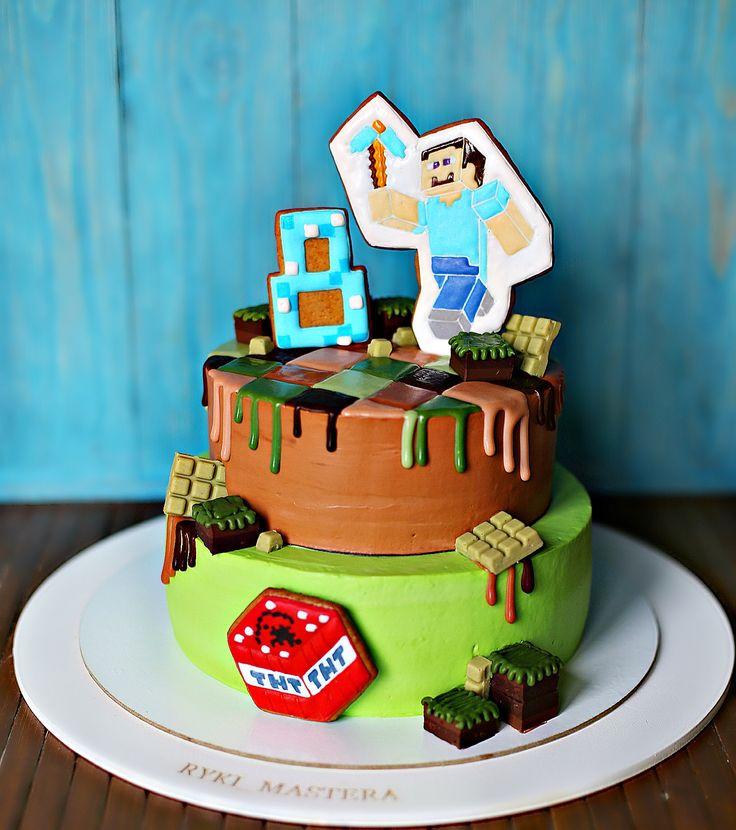 Minecraftcake