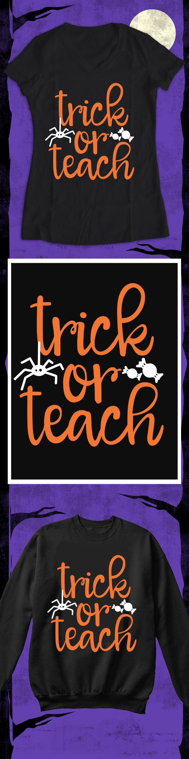 Trick or Teach - Limited edition. Order 2 or more for friends/family & save on shipping! Makes a great gift!