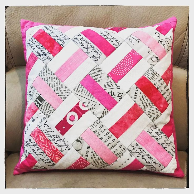 Modern Quilted Pillows Pattern : 3274 best Quilt Inspiration images on Pinterest Art quilting, Bedspreads and Comforters