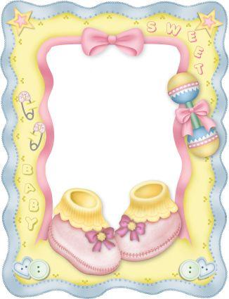 Baby theme frame