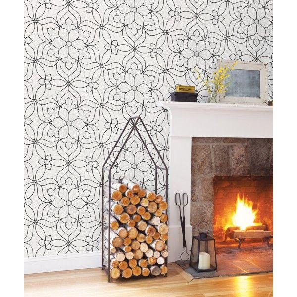 best 25 papier peint anglais ideas on pinterest d cor. Black Bedroom Furniture Sets. Home Design Ideas