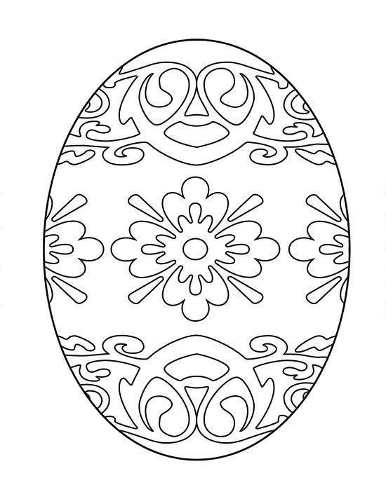 Яйцо картинка трафареты