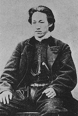 新撰組 土方歳三 Shinsen-Gumi Bice president Toshizo Hijikata.