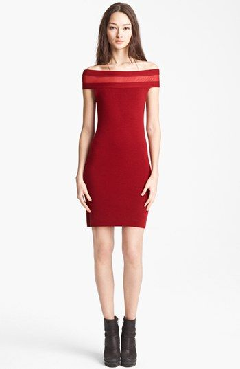 Jean Paul Gaultier Fuzzi Off Shoulder Dress available at #Nordstrom