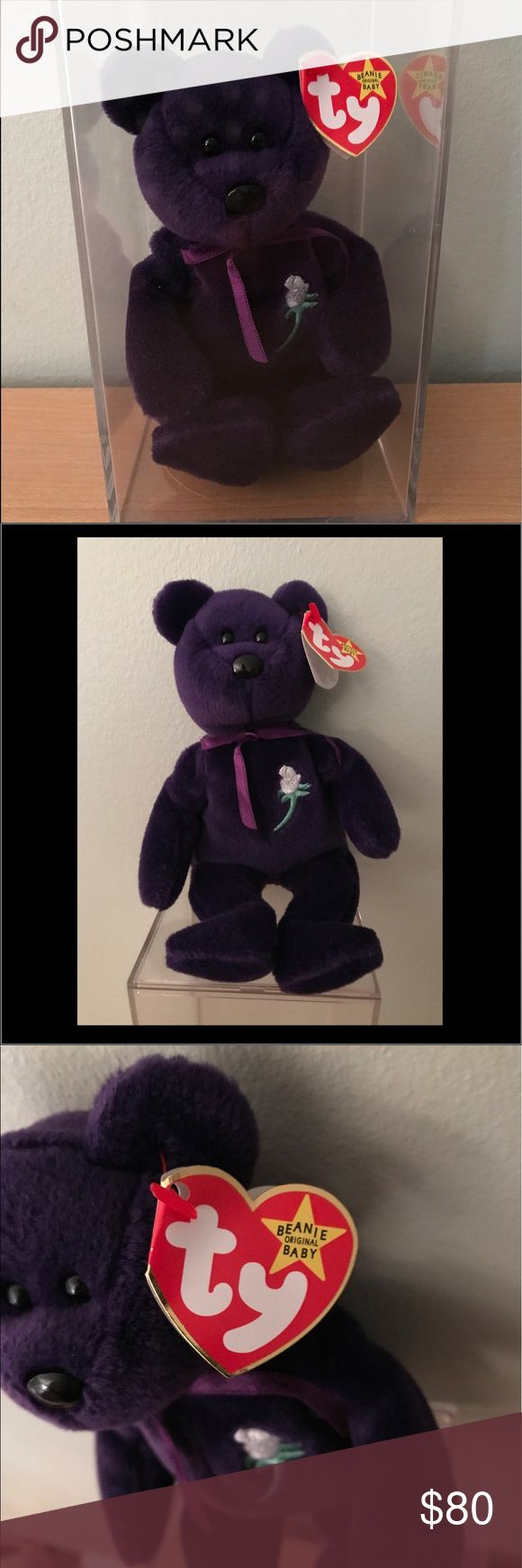 RARE Princess Diana Beanie Baby This Princess Diana bear has been in her box since I bought her in 1997. Mint condition! TY Other
