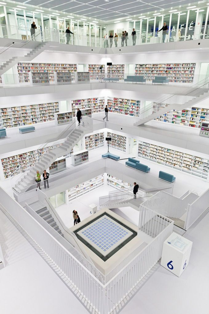 Stuttgart's Refreshingly New Modern Library