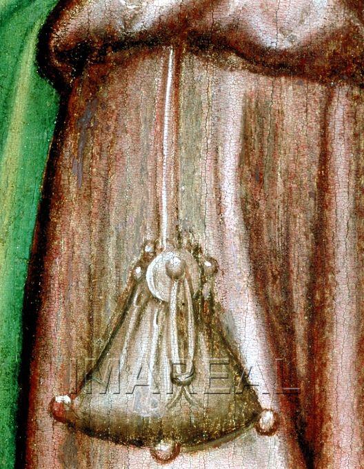 Beschneidung Christi Kunstwerk: Temperamalerei-Holz ; Einrichtung sakral ; Flügelaltar ; Meister des Weildorfer Altars ; Salzburg ; Lk:02:021-038  Dokumentation: 1430 ; 1435 ; Freising ; Deutschland ; Bayern ; Kloster St. Klara  Anmerkungen: Weildorf