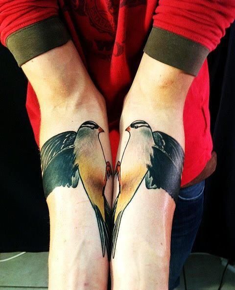 #tattoo #bird great placement too