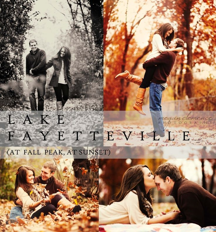love these fall engagement pics