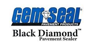 Gem Seal Black Diamond Pavement Sealer #roc #sealcoatingcontractor #sealandstripe #rochesterny #sealcoating