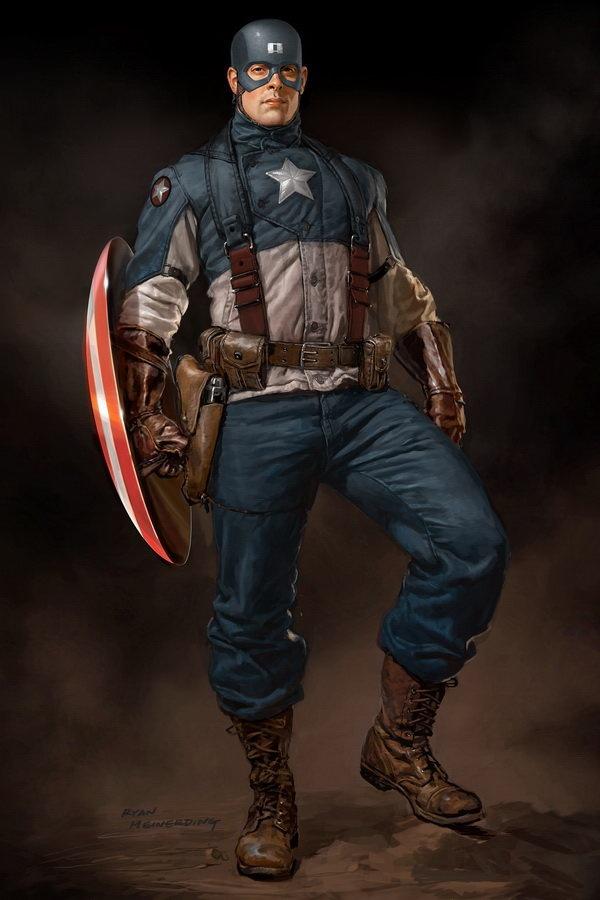 Capitán América (Concept Art)
