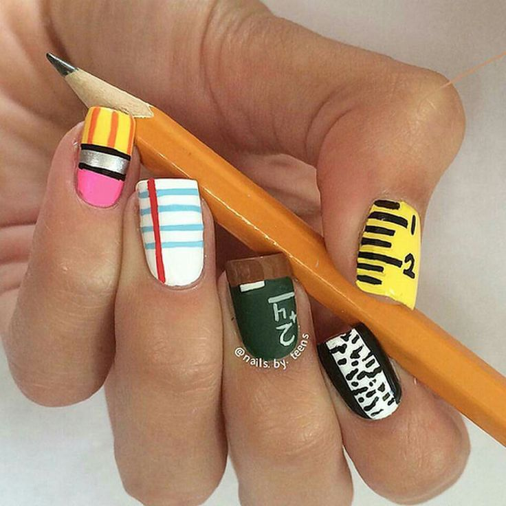 Back to School nails - Best 25+ Back To School Nails Ideas On Pinterest School Nails