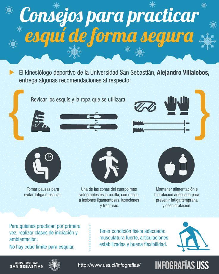 Consejos para practicar esquí de forma segura