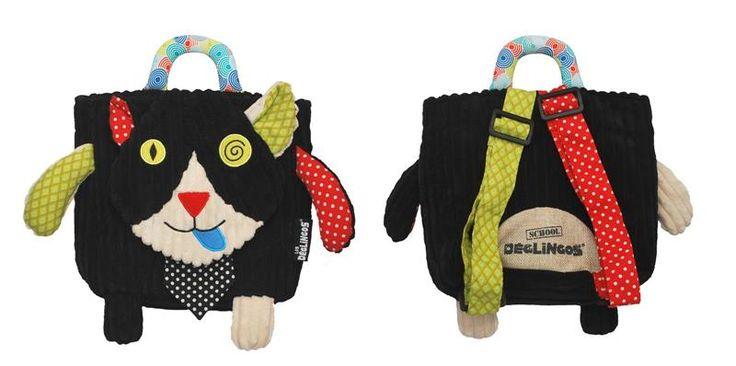 Sac à dos Charlos le chat Les Déglingos - BadBouille