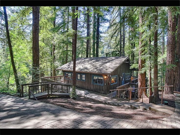 Santa Cruz Mountain Cabin. Mount Hermon.: 3 Bedrooms; 3 Bathrooms.. This cabin, built in 1906, the second built in the Mount Hermon Christian Conference com...