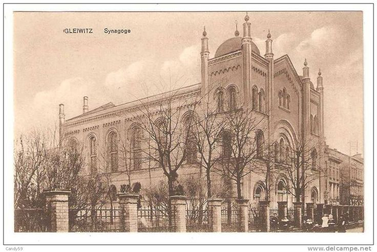 GLIWICE Synagoga- Dolnych Wałów