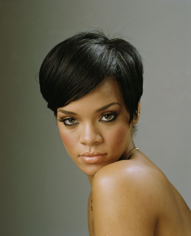 short hair elegant styles best 25 black hair ideas on black hair 2534 | e61f63f21f72f6a6d8aefa14749e96b5 rihanna haircut rihanna short hairstyles