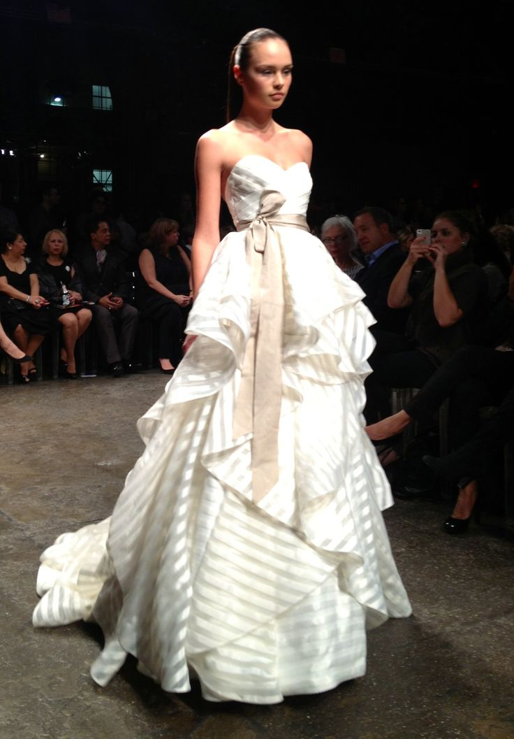 Striped Wedding Dresses 019 - Striped Wedding Dresses