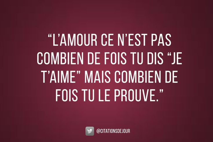 Citation d'amour pour la Saint-Valentin.