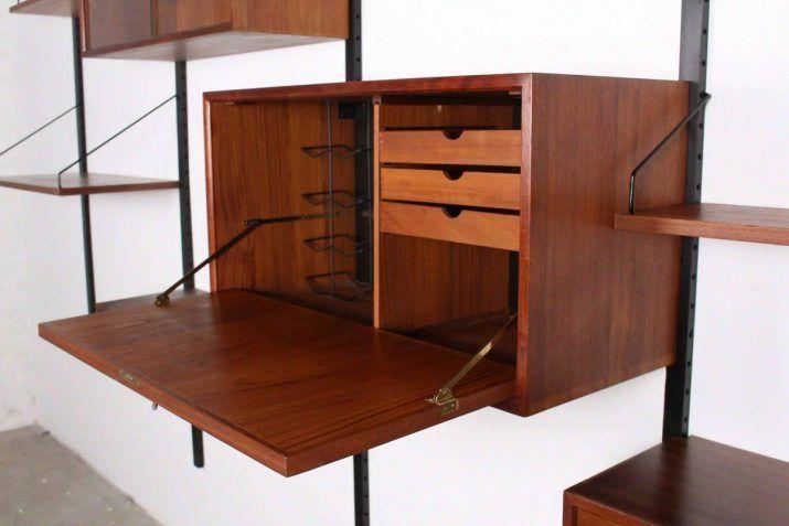 Etagere Modulable Royal System Poul Cadovius Etageres Modulables Meuble Vintage Mobilier De Salon