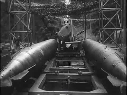 """German midget submarines of World War II.    -- Molch: All electric, one-man midget submarine.  Carried two torpedos. Used hydroplanes.  Molch means: """"newt"""" or """"salamander"""".     -- Biber (""""beaver"""") was successor.  Faster and more maneuverable.  Had gas engine for surface cruising and recharging the batteries. 30 ft. length. 6 ton weight.    -- S..."""