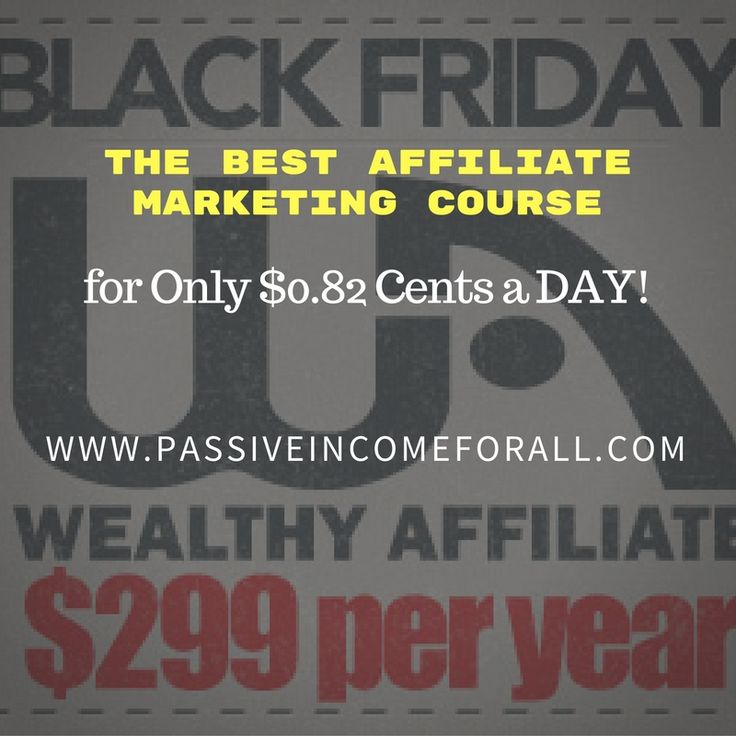 For 4 Days Only, you can get the deal of the Century! The Best Affiliate Marketing Course for Just $0.82 cents a Day! This is Something you Don't want to miss.