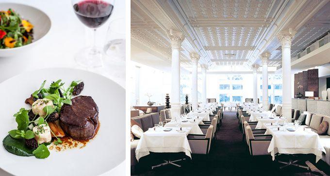 est. restaurant, Establishment level 1, 252 George Street, Sydney ... Head Chef = Peter Doyle ... SMH 3 Hat Restaurant