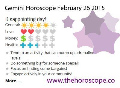 horoscope february 26 gemini