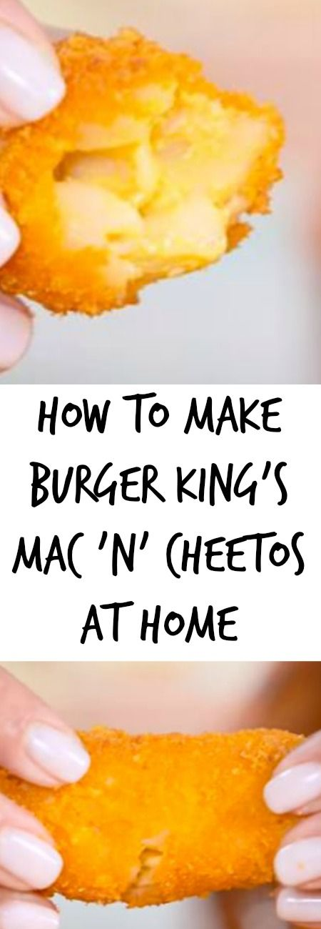 Everyone loves a good food mashup, and Burger King has a new one with the announcement of its Mac n' Cheetos — they've sent the internet into a frenzy clamoring to try them. But we couldn't stop there — we knew we had to make 'em ourselves, and we couldn't be happier with the results! …